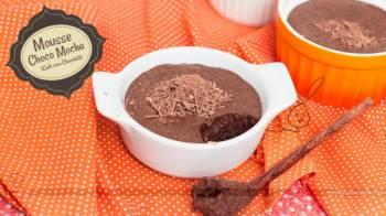 Mousse Choco Mocha (Café com Chocolate)